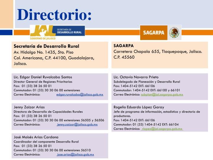 Directorio: