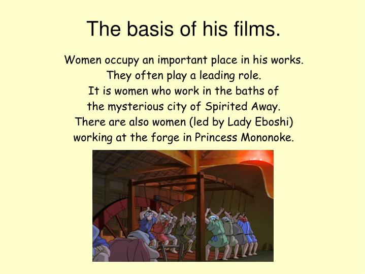 Women occupy an important place in his works.