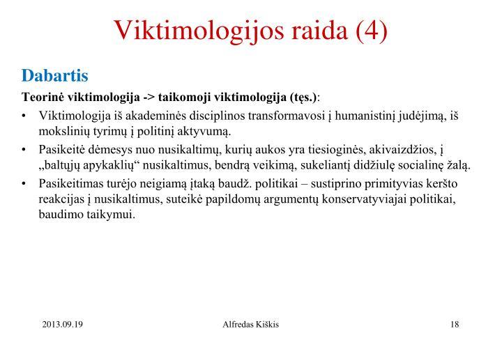 Viktimologijos raida (4)