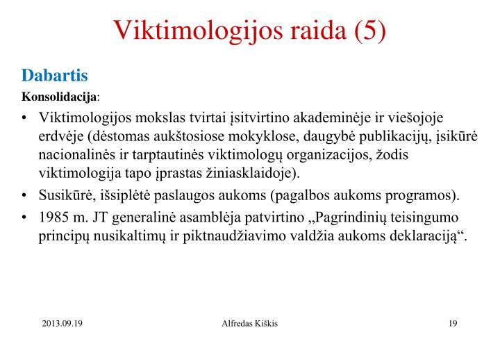 Viktimologijos raida (5)