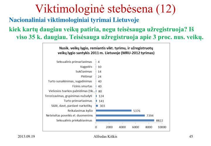 Viktimologinė stebėsena (12)