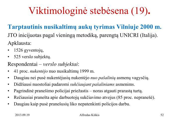 Viktimologinė stebėsena (19)