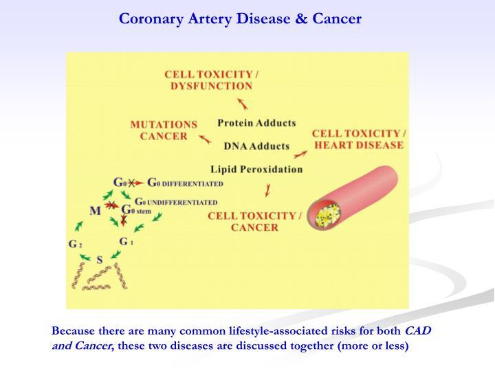 Coronary Artery Disease & Cancer