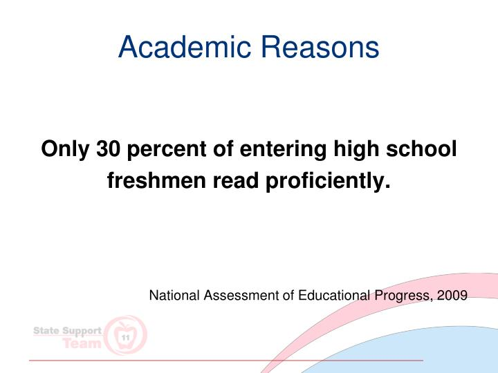 Academic Reasons