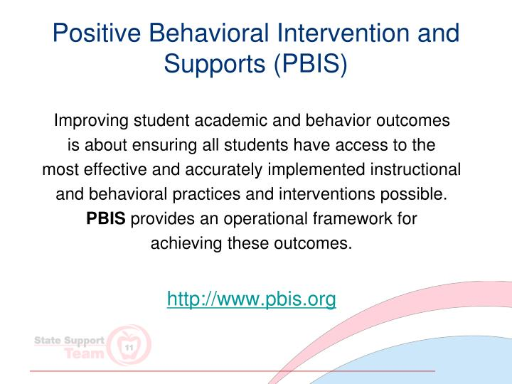 Positive Behavioral Intervention and Supports (PBIS)