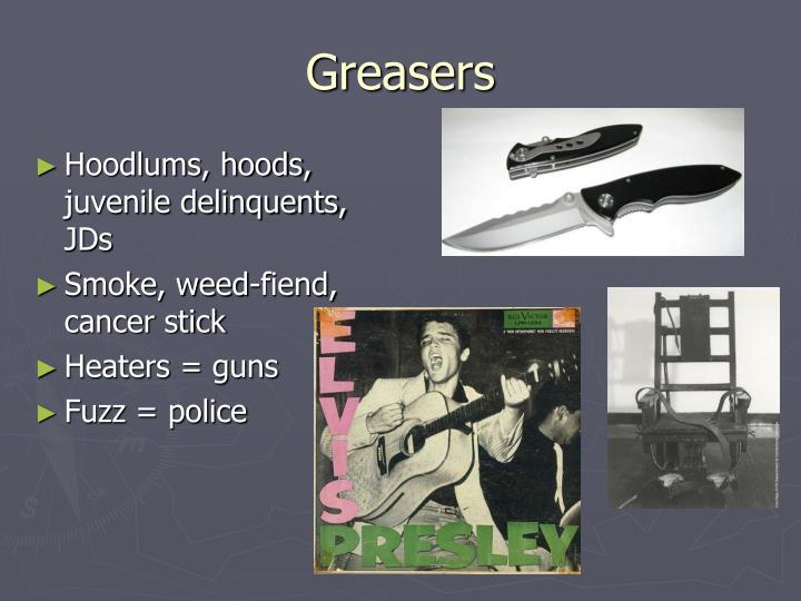 Hoodlums, hoods, juvenile delinquents, JDs