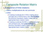 composite rotation matrix