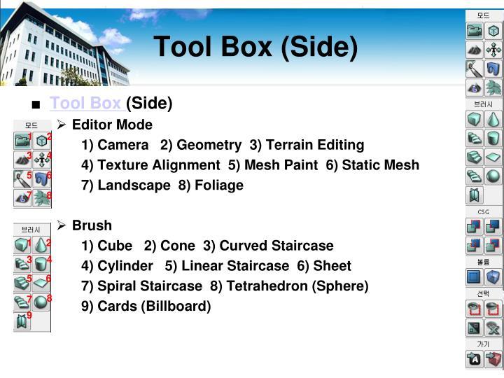 Tool Box (Side)