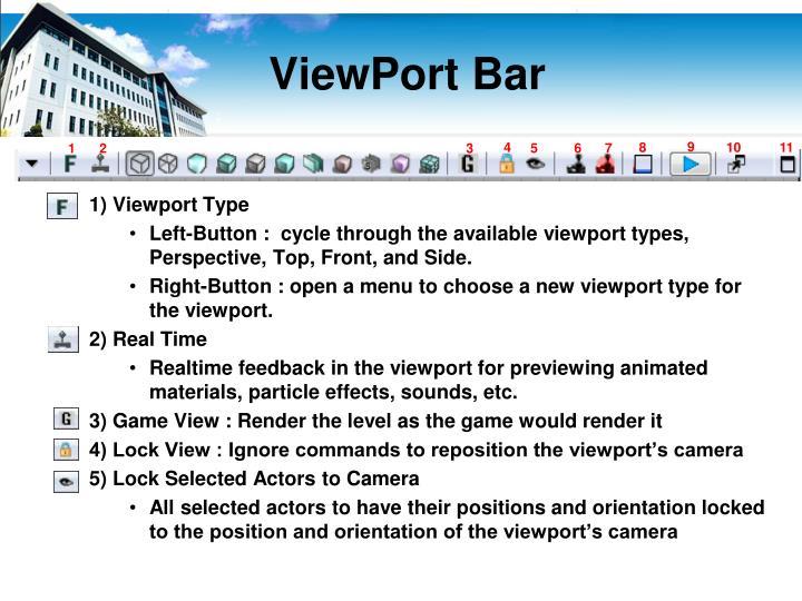 ViewPort Bar