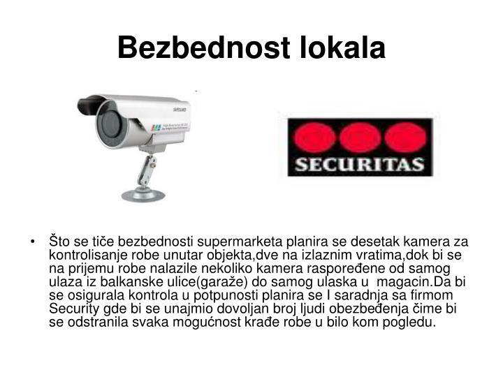Bezbednost lokala