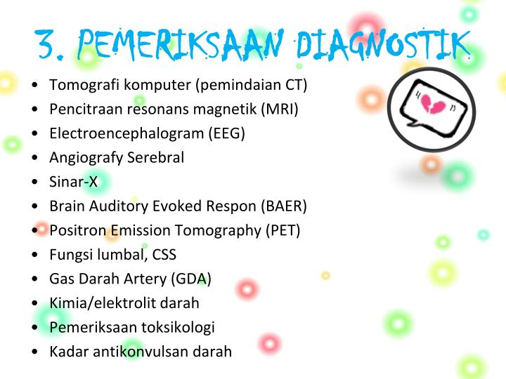 3. PEMERIKSAAN DIAGNOSTIK