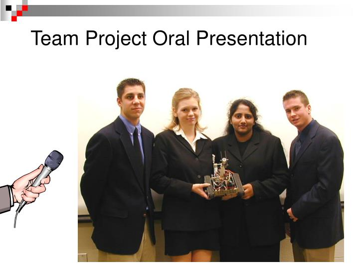 Team Project Oral Presentation