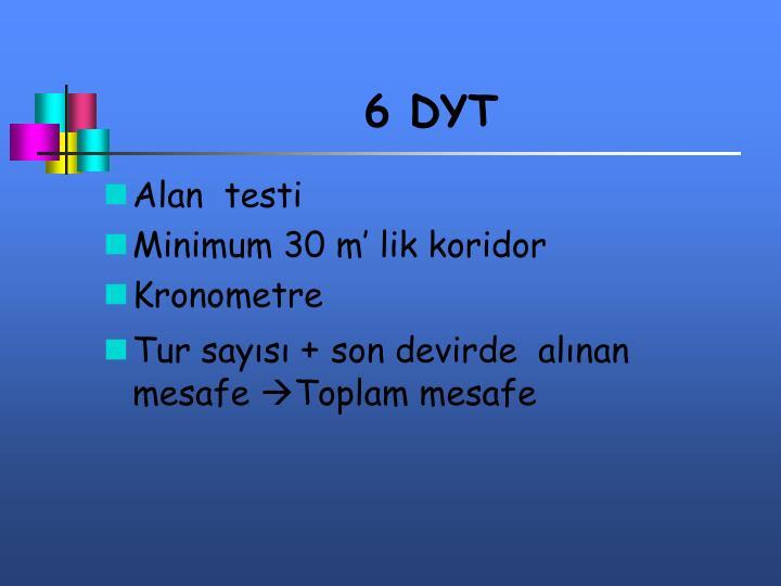 6 DYT