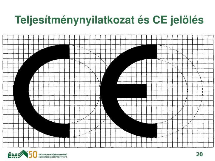 Teljestmnynyilatkozat s CE jells