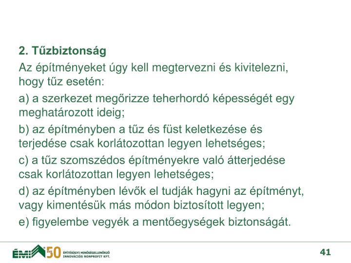 2. Tzbiztonsg