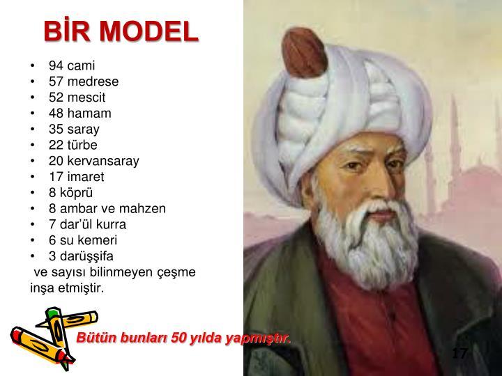 BİR MODEL