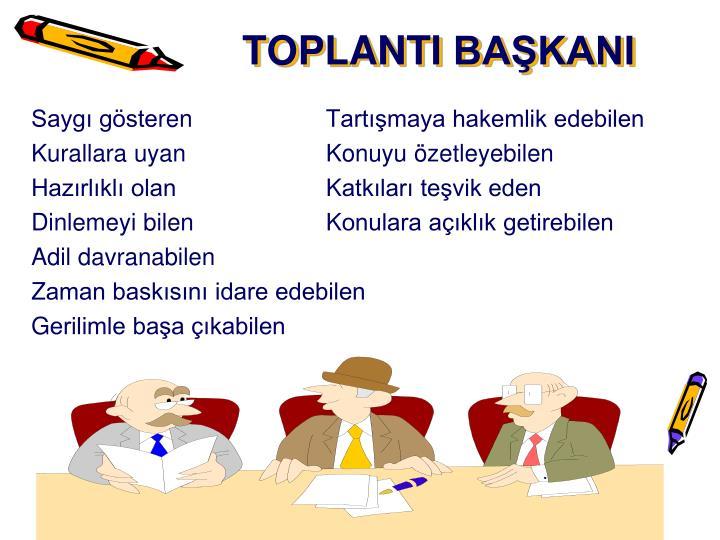 TOPLANTI