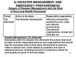 6 disaster management and emergency preparedness10