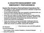 6 disaster management and emergency preparedness3