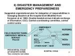 6 disaster management and emergency preparedness5