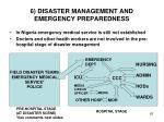 6 disaster management and emergency preparedness6