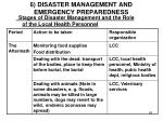 6 disaster management and emergency preparedness9