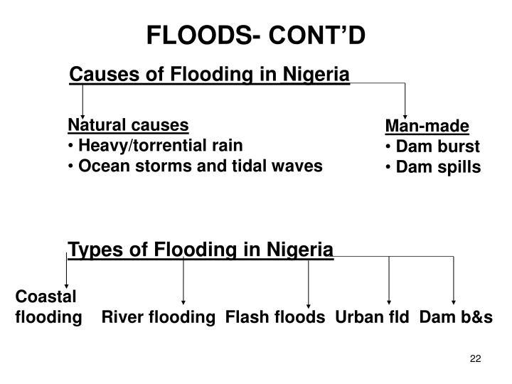 FLOODS- CONT'D