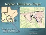location chihuahuan desert