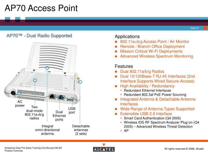 AP70 Access Point