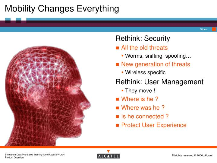 Mobility Changes Everything