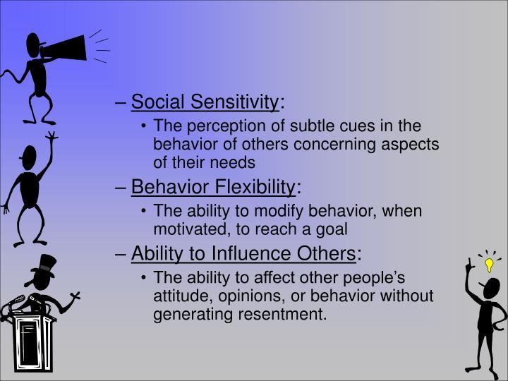 Social Sensitivity