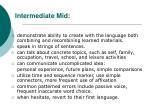 intermediate mid