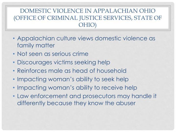 Domestic violence in