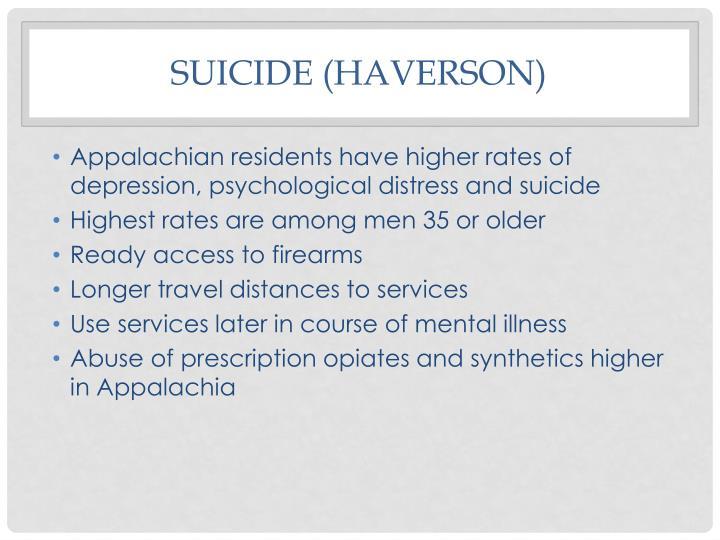 Suicide (