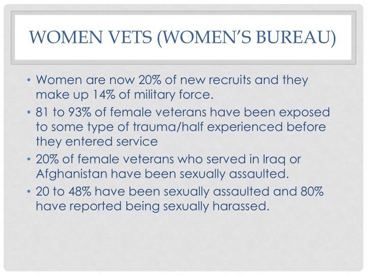 Women Vets (Women's bureau)