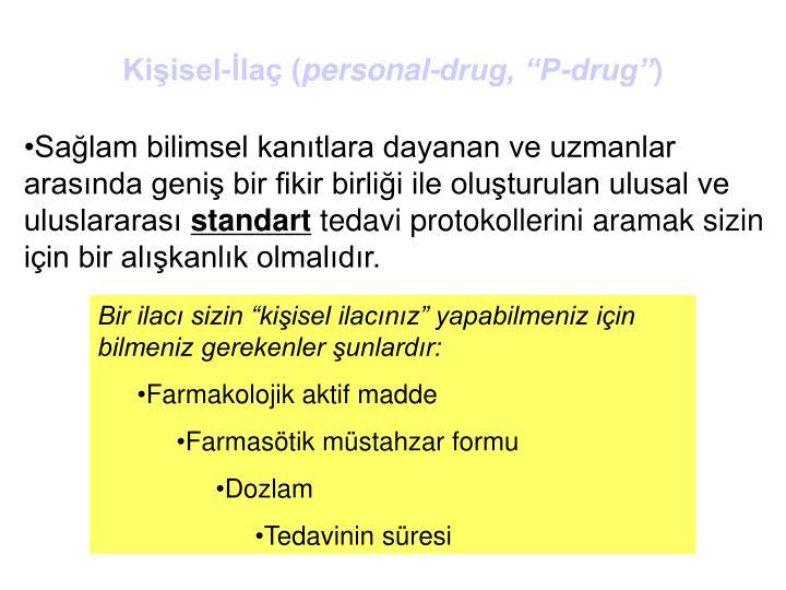 Kişisel-İlaç (