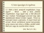 6 isten igazs gos s irgalmas
