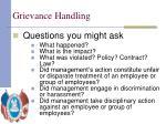 grievance handling12