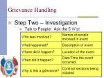 grievance handling13