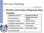grievance handling17