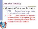 grievance handling24