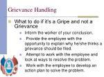 grievance handling31