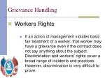 grievance handling8