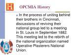 opcmia history15