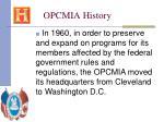 opcmia history28
