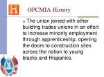 opcmia history30