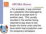 opcmia history8