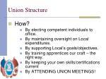 union structure1