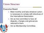 union structure10