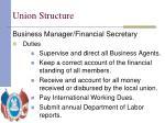 union structure3
